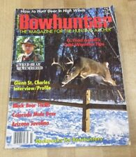 Bowhunter Magazine March 1990 Fred Bear Remembered A Retrospective >