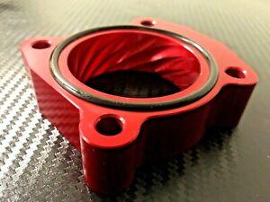 (X705-AR) RED Throttle Body Spacer for 2004 - 2012 Toyota SCION tC 2.4l  2AZ-FE