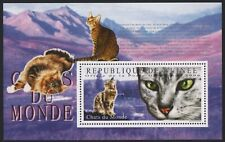 Guinea 2009 - Mi-Nr. Block 1788 ** - MNH - Katzen / Cats