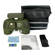 New Brand 7x50 Military Waterproof Floating Marine Binocular&Rangefinder&Compass