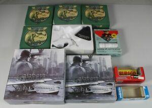 A4/10x Empty Box, Verkaufsschachteln - Märklin+Burago+Fighters Of WW2/28
