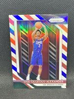 2018 Panini Prizm Red White Blue Shai Gilgeous-Alexander Centered