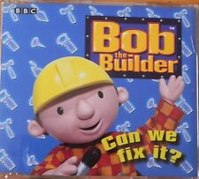 BOB THE BUILDER 4 TRACK CD SINGLE CAN WE FIX IT?
