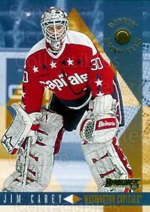 1995-96 Donruss Rookie Team #1 Jim Carey