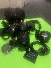 Nikon D3300 24.2 MP Digital SLR Camera Black with AF-P 18-55mm VR Lens