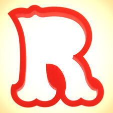 Curly Letter R Cookie Cutter 4 in PC0147 - By CookieCutter.Com - USA Made