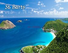St. Barts #2 - Travel Souvenir Flexible Fridge Magnet