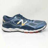 New Balance Mens 860 V6 M860BW6 Blue Running Shoes Lace Up Low Top Size 11 D
