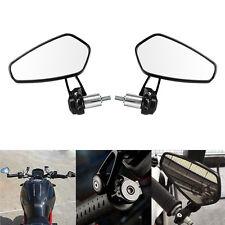 """2x universale 7/8"""" Coppia Retrovisori Specchietti Manubrio Specchi Moto Scooter"""
