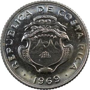 COSTA RICA - 5 CENTIMOS - 1969