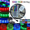 5050 RGB LED Strip Lights Waterproof IP65 5m-30m 12V 44key IR Controller Adapter