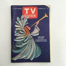 TV Guide Magazine December 24 1966 Merry Christmas Cover, No Label Rochester NY