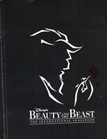 Disney's Beauty & the Beast 1996 Souvenir Program