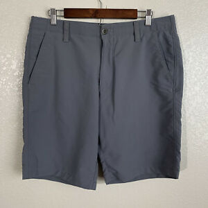 Under Armour Men's Gray Golf Performance Shorts Size 36