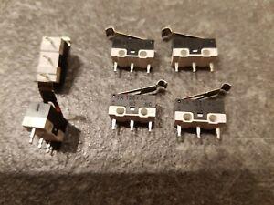 Interrupteurs Mini Microswitch JL014 à crochet. 1A sous 125v