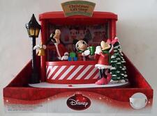 NEW DISNEY Animated Christmas Gift Shop Lights Motion Music Quality Display