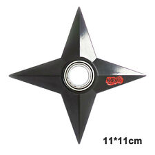 Naruto Four Leaves Hand Finger Blades Spinners Sword Shuriken Fidget Kids Toy