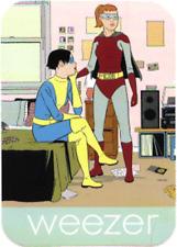 11142 Weezer Cartoon Superheroes Adrian Tomine Art 90s Die Cut Sticker / Decal