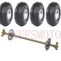 "Rear Axle Brake Disc Hub 4.10-6"" wheel rim tire F GoKart Quad ATV 4Wheeler Buggy"