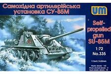 UNIMODELS 335 1/72 Self-propelled gun SU-85M