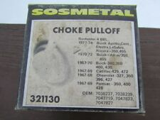1967-1974 327-472 GM Choke Pulloff: Rochester 4BBL - SOS Metal Part #321130