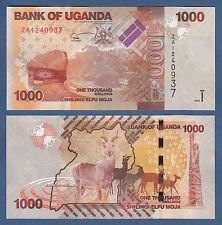UGANDA  1000 Shillings 2015 Replacement ZA  UNC  P. 49 c