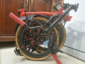 M2L Rocket Red Black Edition With Limited Joseph Kuosac Tyres & Extremeties