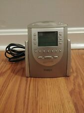 Timex Nature Sounds AM/FM Radio Alarm Clock 6 Presets Wake Sleep Buzzer T309T