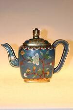 Chinesische Teekanne aus Cloisonné 14cm