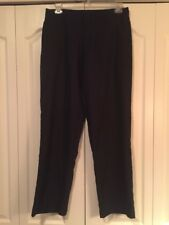 ⛳ Mens Adidas ClimaLite Golf Pants-Black-Size 32x32-Dry Fit-Flat Front ⛳