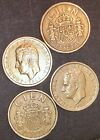 Cien/100 Pesetas 1984,1988,1989 (lot Of Four Coins) Juan Carlos I Rey De Espana