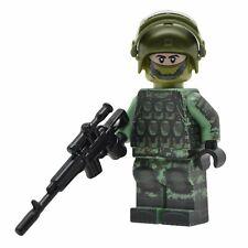 Lego Custom RUSSIAN SPETSNAZ Soldier - Full Body Printing NEW Brickarms AK-SV