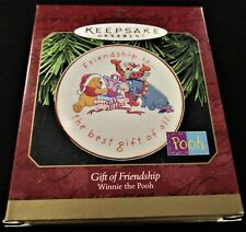 1997 Hallmark Keepsake Ornament Winnie ~ The Pooh ~ Gift Of Friendship ~ Mint