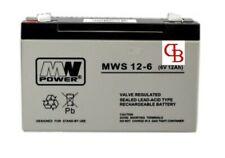 Battery 6 Volt 12Ah 72Wh Lead-Acid