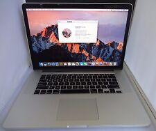 """Apple MacBook Pro Retina 15"""" Mid 2012 Intel Core i7 2.6GHz 8GB 480GB SSD A1398"""
