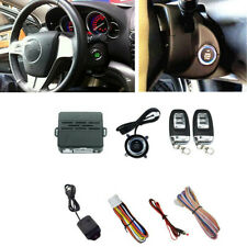 Ignition Engine Start Push Button Remote Starter Keyless Entry Car Alarm System