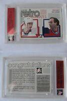 2014-15 ITG Ultimate Shutt Lafleur 1/1 retro teammates dual jersey canadiens