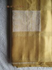 "Collectibles Table Linens & Textiles 2004 Waterford 68""x 83"" Gold Tablecloth New"