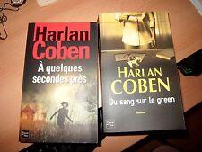 lot de 2 livres de  Harlan Coben, Fleuve Noir 2006