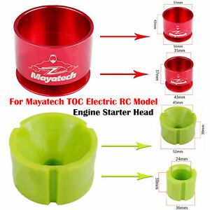 For Mayatech TOC Electric RC Model Engine Starter Head Metal / Rubber Head A2UK