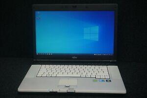 """Fujitsu Lifebook E780 / 15,6"""" i5-M520 2 x 2,40GHz 4GB 500GB HDD Windows 10 Pro"""