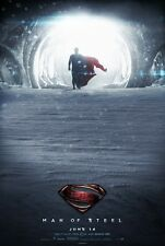 Man Of Steel movie poster (h) 11 x 17 inches - Superman poster
