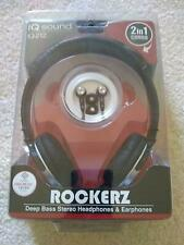 Rockerz Deep Bass Headphones & Earphones Combo Model IQ-212