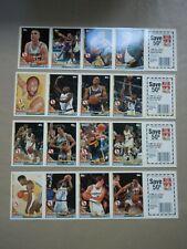 1993-94 Topps - GOLDEN STATE WARRIORS Team Set (4) Panels - Mullin, Thurmond ++