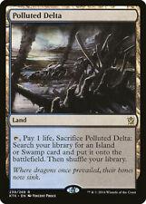 Magic the Gathering - MTG - FOIL - Polluted Delta  - Khans - NM - Rare