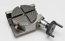 """4"""" INCH ROTARY TABLE HORIZONTAL VERTICAL USE FOR DIY MACHINISTS"""
