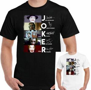 THE JOKER T-SHIRT, Mens Batman Suicide Squad Dark Knight Heath Ledger Unisex Tee
