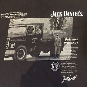 Jack Daniel's Licensed 2009 S T-Shirt Workers  Pick Up Truck Tennessee VGC