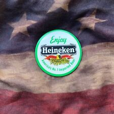 Heineken America's No.1 Imported Beer Large 3� Vintage 1980's Round Pin Button