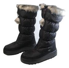 PAJAR TOBOGGAN TALL NYLON WATERPROOF SNOW BOOTS WOMEN SIZE 41  /  10.5   -ITALY-